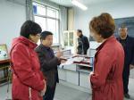 """院领导到实训电教中心调研""""1331工程""""推进情况"""